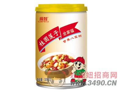极智桂圆莲子全家福营养八宝粥320g