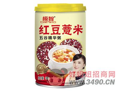 极智红豆薏米五谷精华粥320g