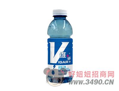 纤维蓝莓口味维生素运动饮料591ml