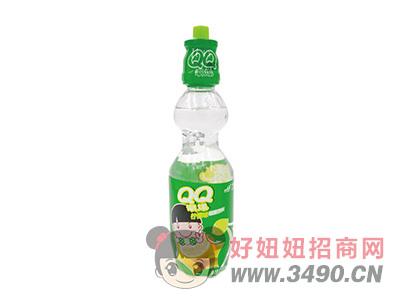QQ潮爆柠檬味碳酸饮料