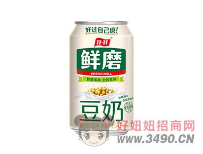 现磨豆奶植物蛋白饮料310ml