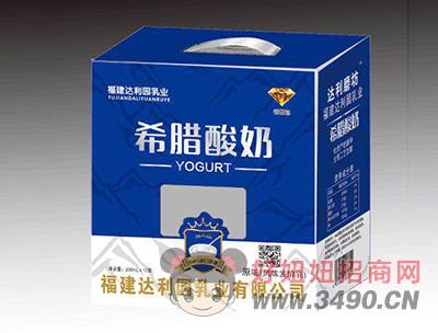 希腊酸奶原味风味发酵乳200mlX12盒
