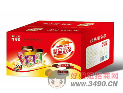 可利客精品奶茶75克x30杯