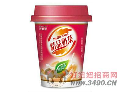 可利客精品奶茶草莓味75克