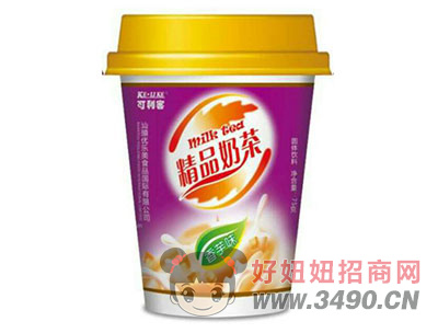 可利客精品奶茶香芋味75克