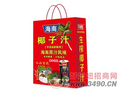 天鲜美海南椰子汁礼盒