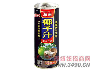 天鲜美海南椰子汁248ml