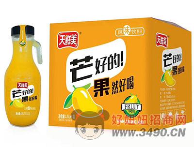 天鲜美芒果汁1.5Lx6瓶