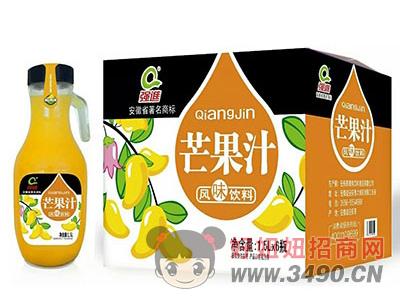 强进芒果汁1.5lx6瓶