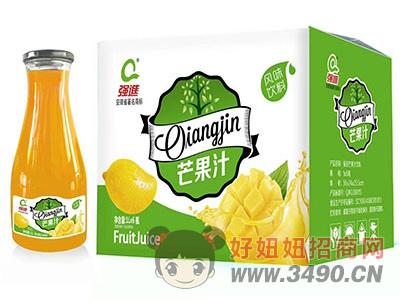 强进芒果汁1lx6瓶