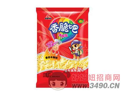 恋圆食品香脆吧香酥面番茄牛腩味33g