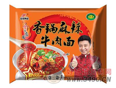 恋圆食品香锅麻辣牛肉面86g