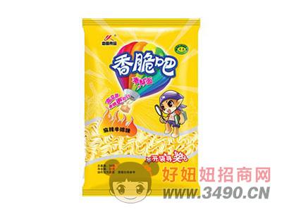恋圆食品香脆吧香酥面麻辣牛排味33g