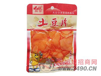 品世香辣土豆片108克