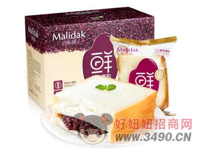 玛呖德紫米面包