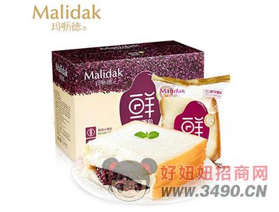 玛呖德紫米面包1.1kg