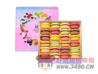 玛呖德法式马卡龙甜点礼盒