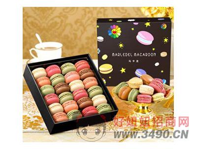 玛呖德法式马卡龙甜点浪漫礼盒
