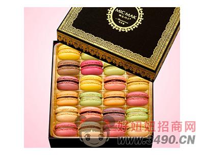 玛呖德法式马卡龙甜点黑色礼盒