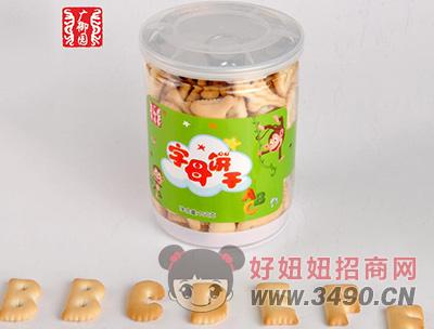 广御园字母饼干120g