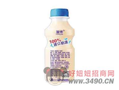 刚刚好乳酸菌饮品原味340ml(反面)