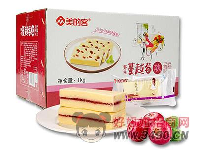 洪胜记蔓越莓面包箱装1kg