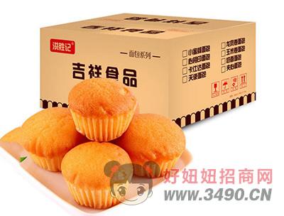 洪胜记1+1法式小蛋糕箱装