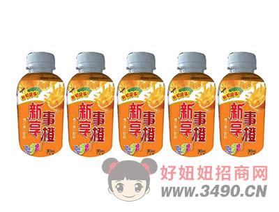 柯菲雪380ml橙汁