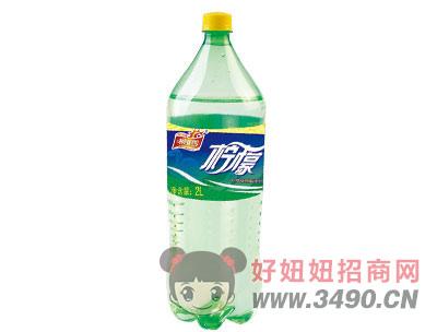 柯菲雪柠檬味碳酸饮料2Lx6瓶