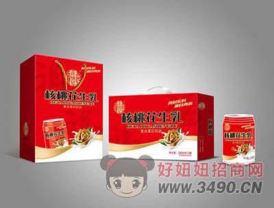 核桃花生乳复合蛋白饮品240mlX12罐