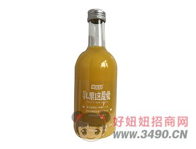 纯果益乳果这是爱甜橙+乳酸菌复合果汁饮料330ml