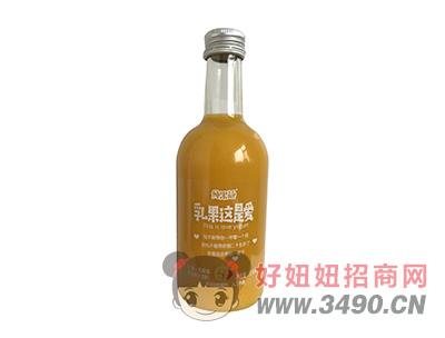 纯果益乳果这是爱芒果+乳酸菌复合果汁饮料330ml