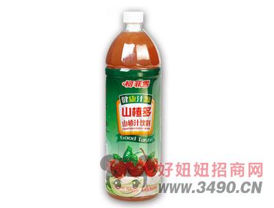 柯菲雪山楂汁饮料1.28LX6瓶