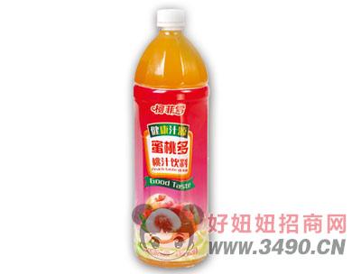 柯菲雪桃汁饮料1.28LX6瓶