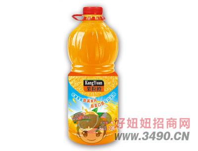 博晟沉淀果粒橙2.08LX6瓶
