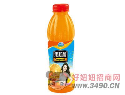 博晟果粒橙600MLx15瓶