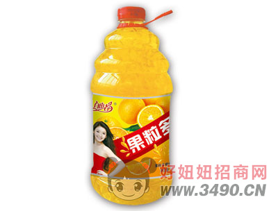 自由者悬浮果粒多2.58LX6瓶