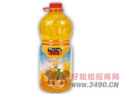 博晟悬浮果粒橙2.08LX6瓶