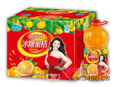 博晟冰糖蜜桔2.58LX6瓶