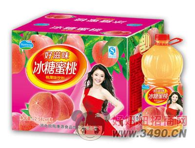 博晟冰糖蜜桃2.58LX6瓶