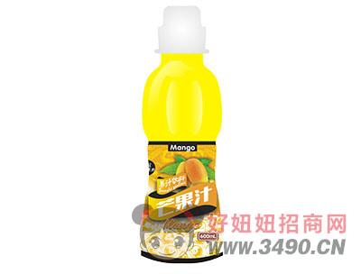 柯菲雪芒果汁600ml