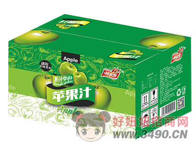 柯菲雪苹果汁箱