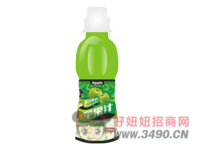 柯菲雪苹果汁600ml
