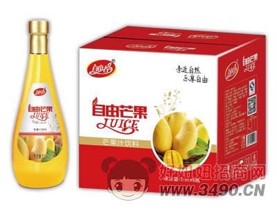 自由者自由芒果汁1.5Lx6瓶