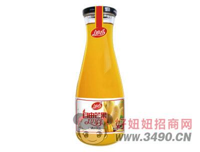 自由者自由芒果汁1L