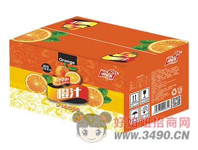 柯菲雪橙汁箱
