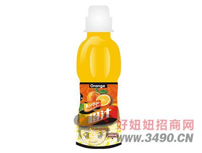 柯菲雪橙汁600ml