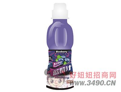 柯菲雪蓝莓汁600ml