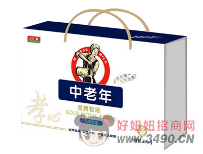 江中一源中老年金牌牧场风味lehu国际app下载250mlx12盒