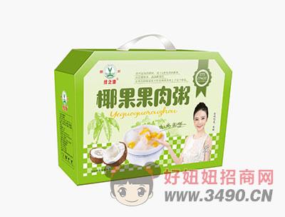 绿之源椰果果肉粥箱装